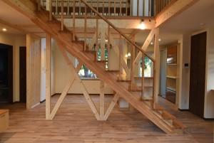 開放的な階段