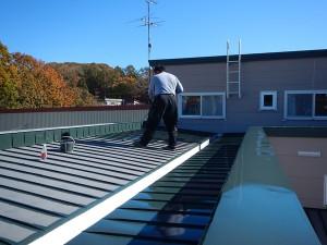 屋根再塗装1