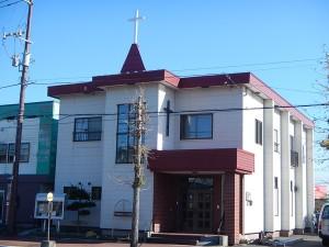 十字架尖塔の設置